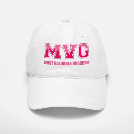 Most Valuable Grandma Baseball Baseball Cap