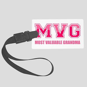 Most Valuable Grandma Large Luggage Tag