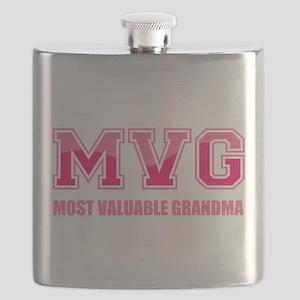 Most Valuable Grandma Flask
