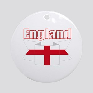 St George Cross England flag Ornament (Round)