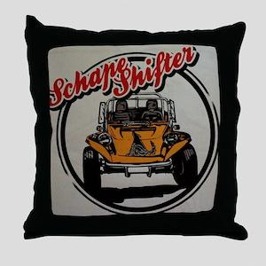 Schape Shifter Kustoms Dune Buggies a Throw Pillow