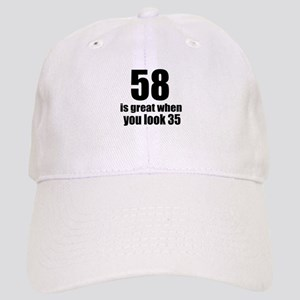58 Is Great Birthday Designs Cap