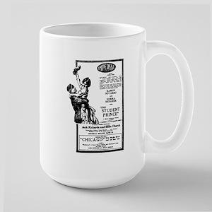 Ramon Novarro Norma Shearer Large Mug