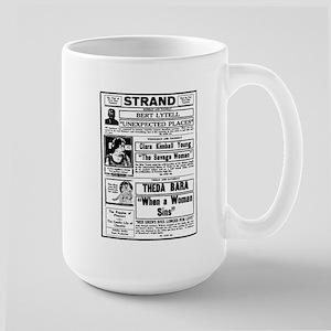Theda Bara Movie Ad Large Mug