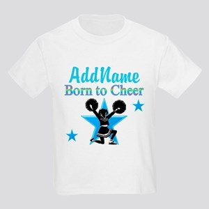#1 CHEERLEADER Kids Light T-Shirt