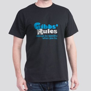 Gibbs Rule Specific When You Lie Dark T-Shirt
