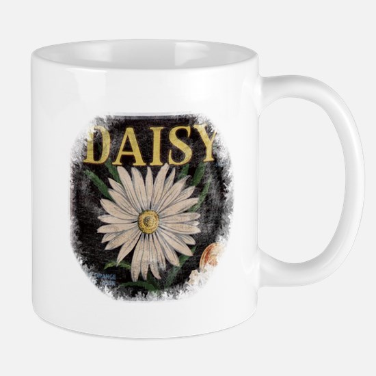 Vintage Daisy Mug