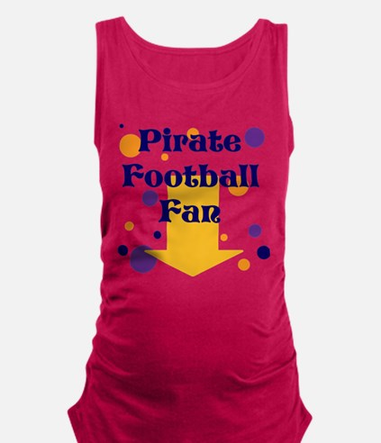 Pirate Football Maternity Tank Top