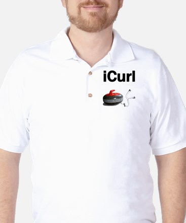 iCurl Golf Shirt