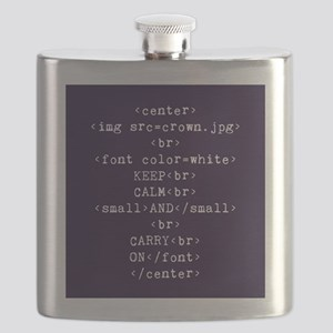 Keep Calm and HTML Flask