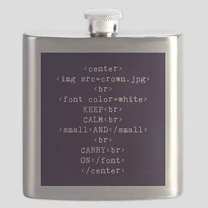 Keep Calm and HTML Flask