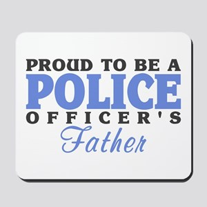 Officer's Father Mousepad