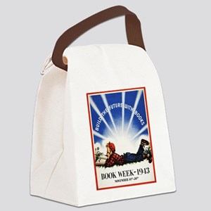 1943 Children's Book Week Canvas Lunch Bag