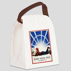 1943 Children's Book Week Canvas Lunch Bag