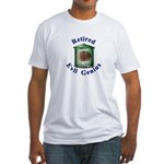 Retired Evil Genius Fitted T-Shirt