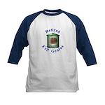 Retired Evil Genius Kids Baseball Jersey