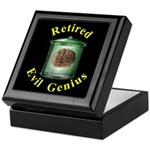 Retired Evil Genius Keepsake Box