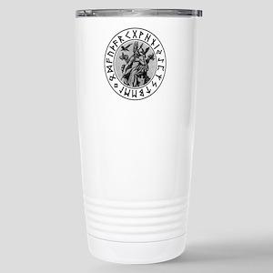 Odin Rune Shield Travel Mug