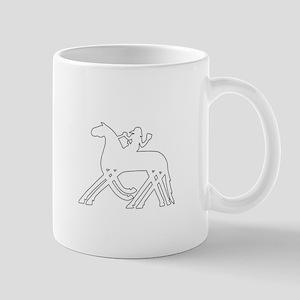 Odin Rune Shield Small Mugs