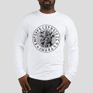 Odin Rune Shield Long Sleeve T-Shirt