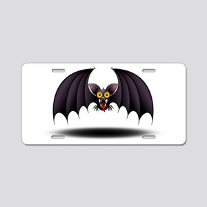 Bat Cartoon Aluminum License Plate
