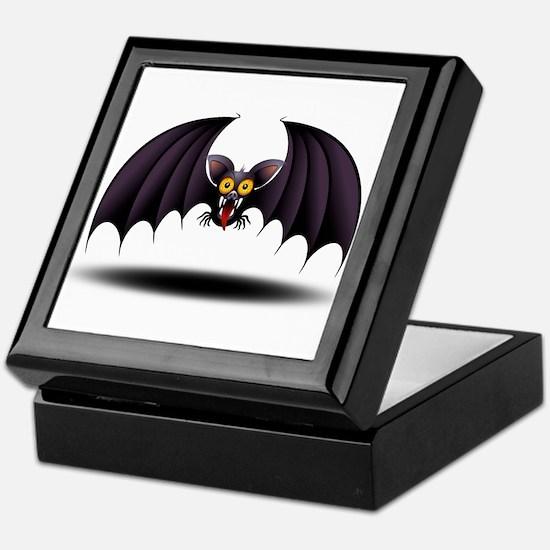 Bat Cartoon Keepsake Box