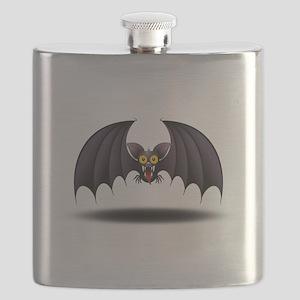 Bat Cartoon Flask