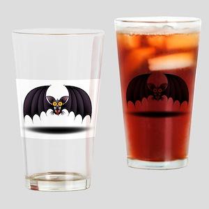 Bat Cartoon Drinking Glass