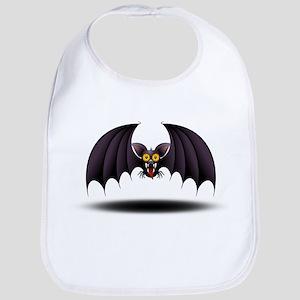 Bat Cartoon Bib