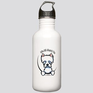 Westie IAAM Stainless Water Bottle 1.0L