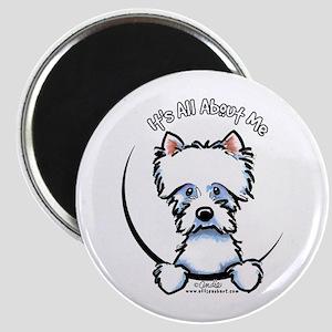 "Westie IAAM 2.25"" Magnet (10 pack)"