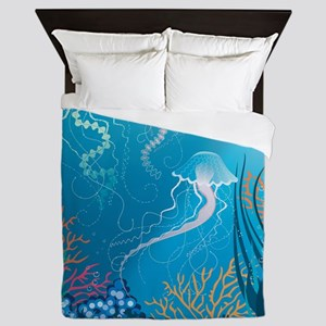 Jellyfish Queen Duvet