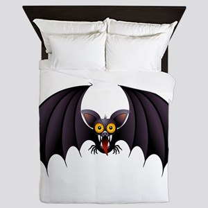 Bat Cartoon Queen Duvet