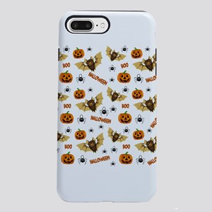 Bat, pumpkin and spider p iPhone 7 Plus Tough Case