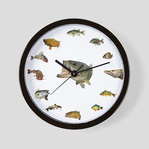 Fish clock Wall Clock