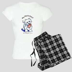 Westie Manipulate Women's Light Pajamas