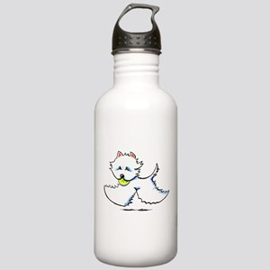 Westie Playtime Stainless Water Bottle 1.0L