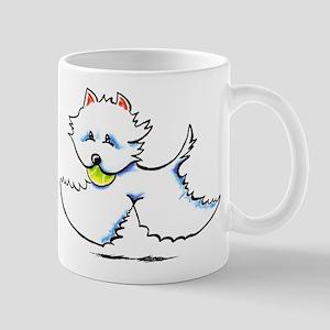 Westie Playtime Mug