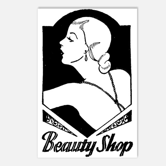 Retro Beauty Shop Postcards (Package of 8)
