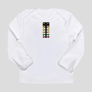 Drag Racing Christmas Tree Long Sleeve T-Shirt