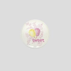 Cotton Candy Sweet Mini Button