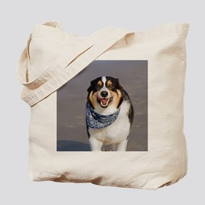 Cute Cori Running on Beach Tote Bag