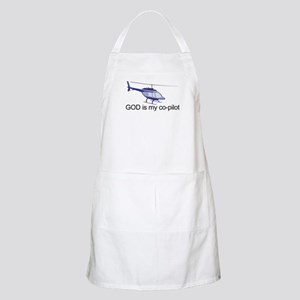 God is my co-pilot BBQ Apron