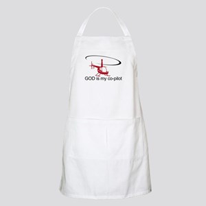 God is my co-pilot R44 BBQ Apron