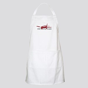God is my co-pilot Fixed BBQ Apron
