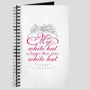 My white hat... Journal