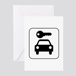Secure Parking Greeting Cards (Pk of 10)