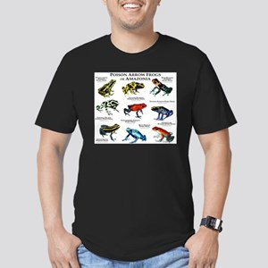 Poison Dart Frogs of Amazonia Men's Fitted T-Shirt