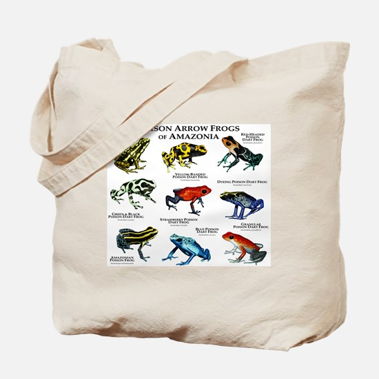Poison Dart Frogs of Amazonia Tote Bag