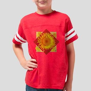 Sun-flower for Black copy Youth Football Shirt